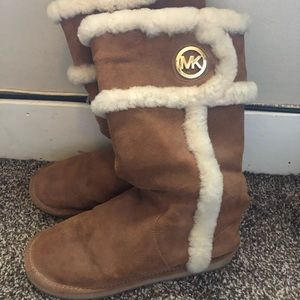 Brown Michael Kors boots